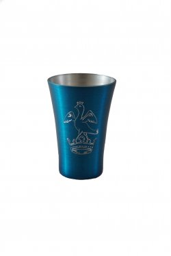 Shot Gun Shot Glass, Blue . 2oz.