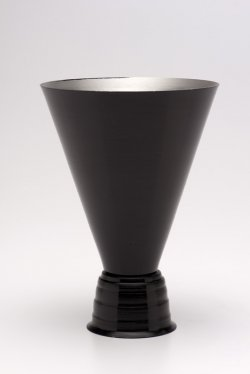 Cocktail Glass, Black -12oz