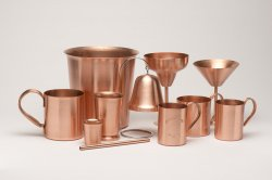 Solid Copper Moscow Mule Mugs - Custom Sizes Available