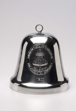 "Polished Big Bell, 4""."