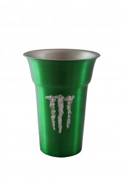 Float Tumbler, Green. 12 oz.