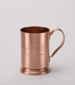 Solid Copper Beer Stein. 14oz.