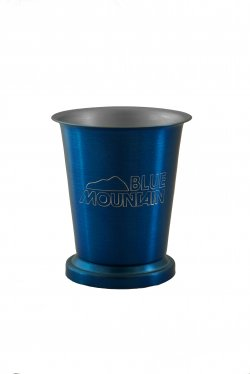 Mint Julep Cup, Blue. 8oz.