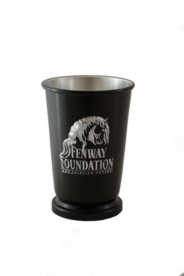 Mint Julep Cup, Black. 12 oz. - Click Image to Close