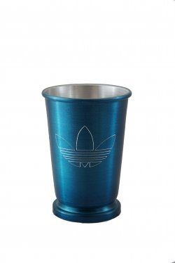 Mint Julep Cup, Blue. 12 oz.