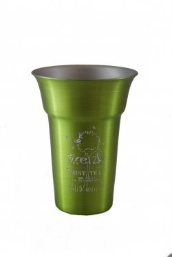 Float Tumbler, Lime. 12 oz.