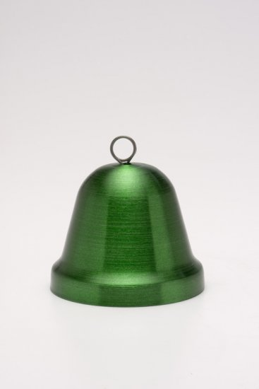 "Small Bell, Green. 2"". - Click Image to Close"