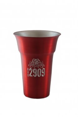 Float Tumbler, Red. 12 oz.