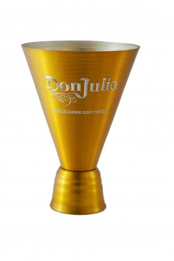 Cocktail Glass, Gold. 12oz