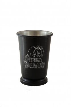 Mint Julep Cup, Black. 12 oz.