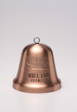 Solid Copper Large Bell. 4""