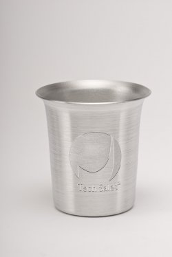 Shot Glass, Silver. 2 oz.