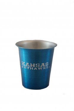 Juice Tumbler, Blue. 8 oz.